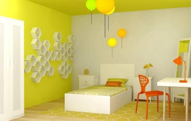Interior Design for a family home, Cambridge, UK: modern Bedroom by Lena Lobiv Interior Design