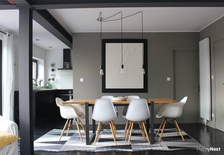 La nouvelle salle à manger:  de style  par HappyNest