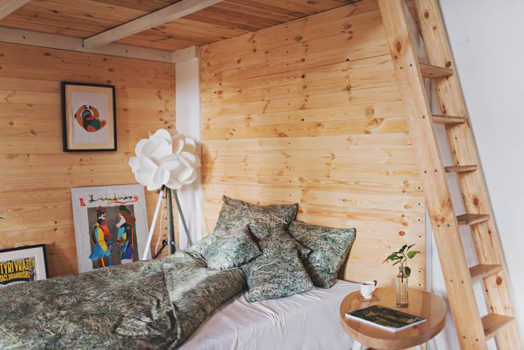 Pościel stóg siana: styl , w kategorii Sypialnia zaprojektowany przez Hayka