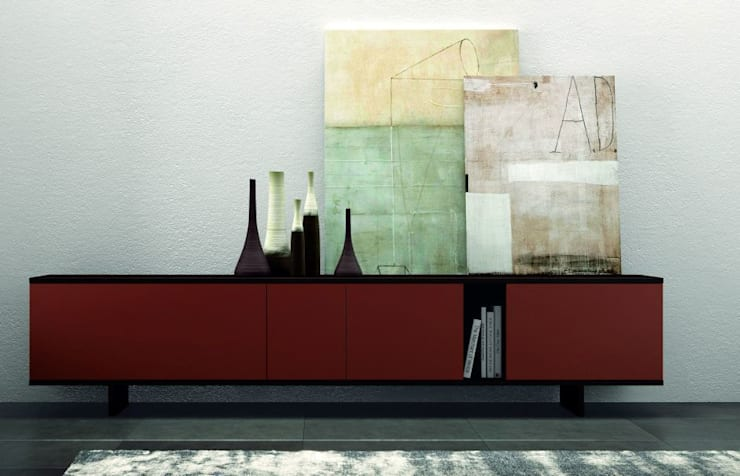 'Ziggurat' sideboard by Orme:  Dining room by My Italian Living