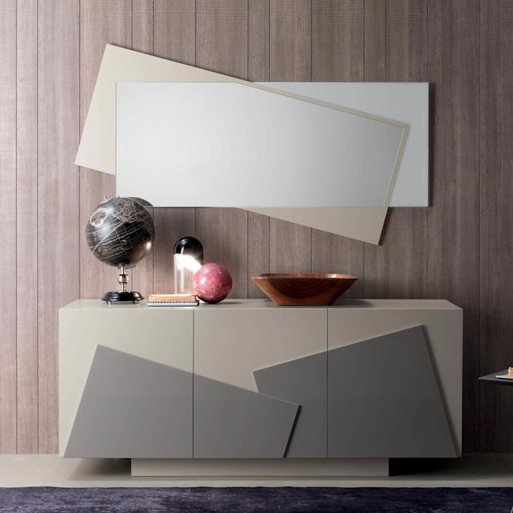 'Smart' sideboard/cupboard by Compar:  Dining room by My Italian Living