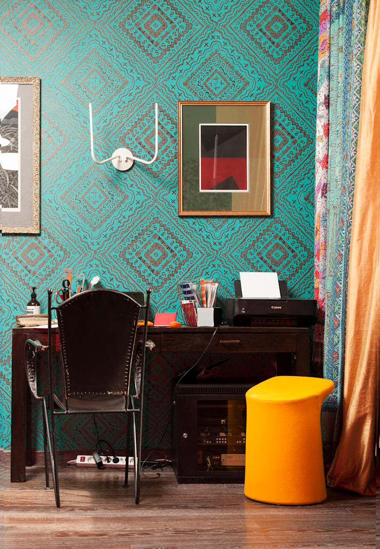 Study/office by Бюро Акимова и Топорова, Modern