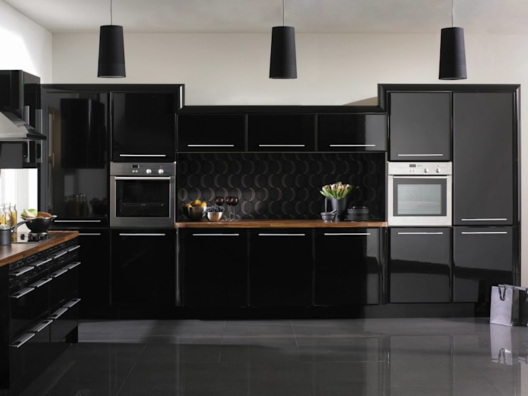 Cocinas de estilo  por Dream Doors Ltd