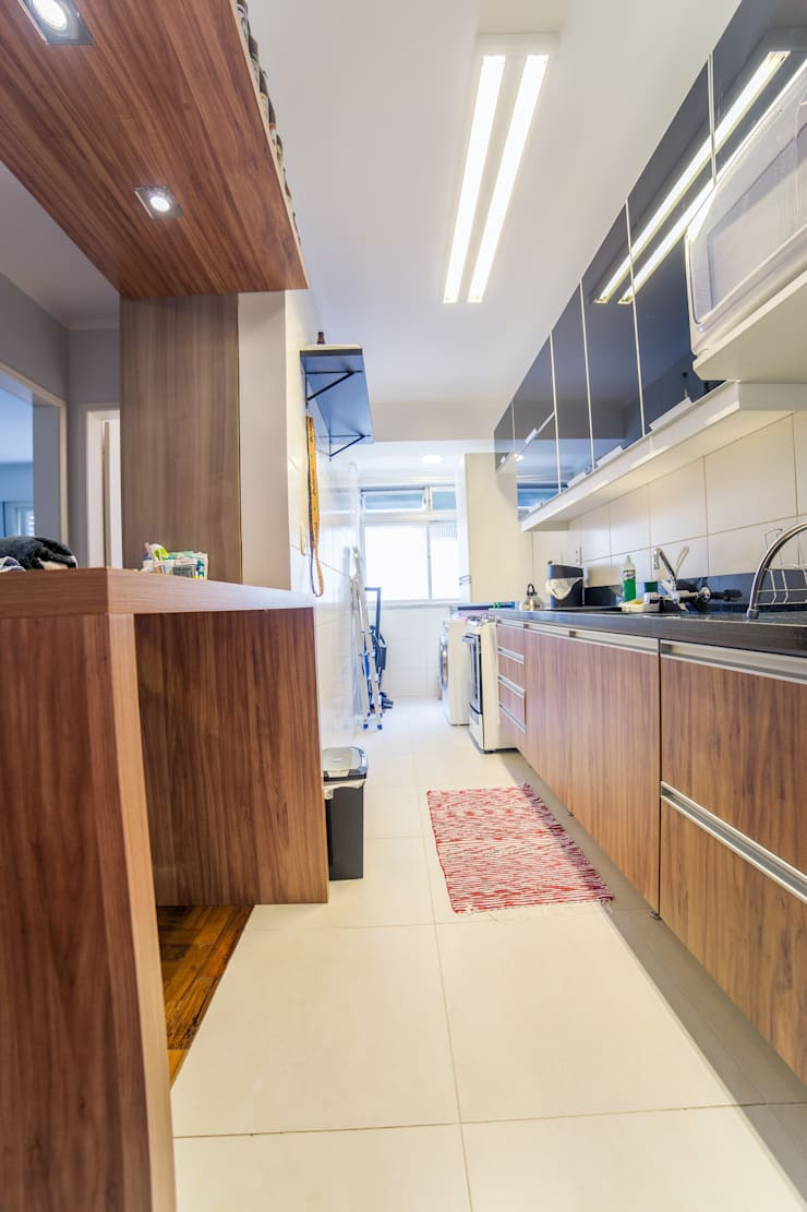 Cozinha: Cozinhas  por Liana Salvadori Arquitetura e Interiores