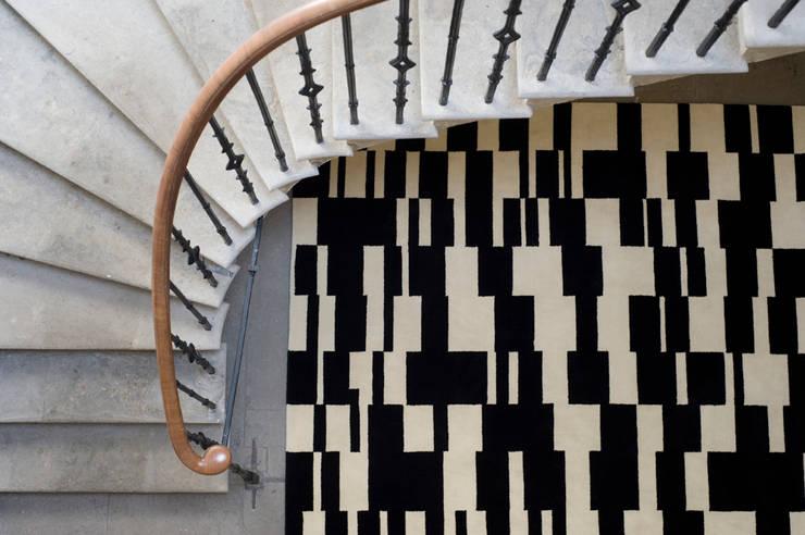Block Rug:  Corridor, hallway & stairs by Niki Jones