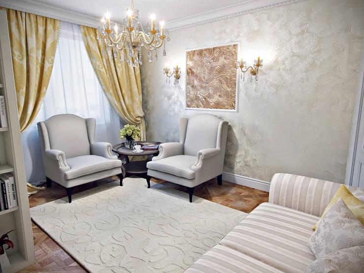 Квартира в ЖК <q>Тапиола</q>: Столовые комнаты в . Автор – Студия дизайна интерьера Маши Марченко,