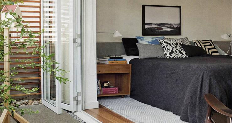 Apartamento Oliver: Quartos  por SAO Arquitetura
