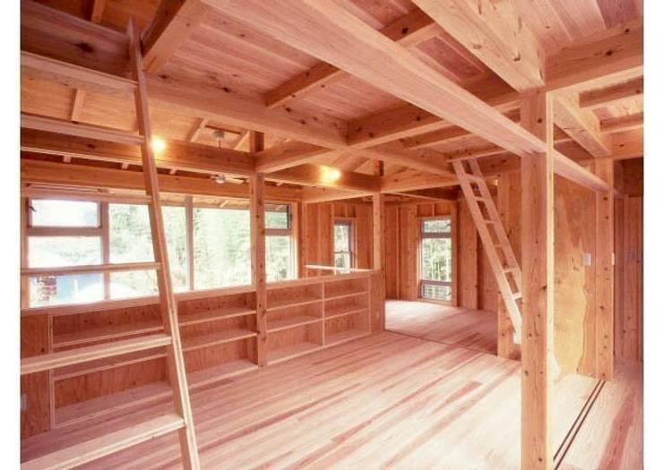 生成りの家No .5/Siさんの家: H2O設計室 ( H2O Architectural design office )が手掛けた和室です。