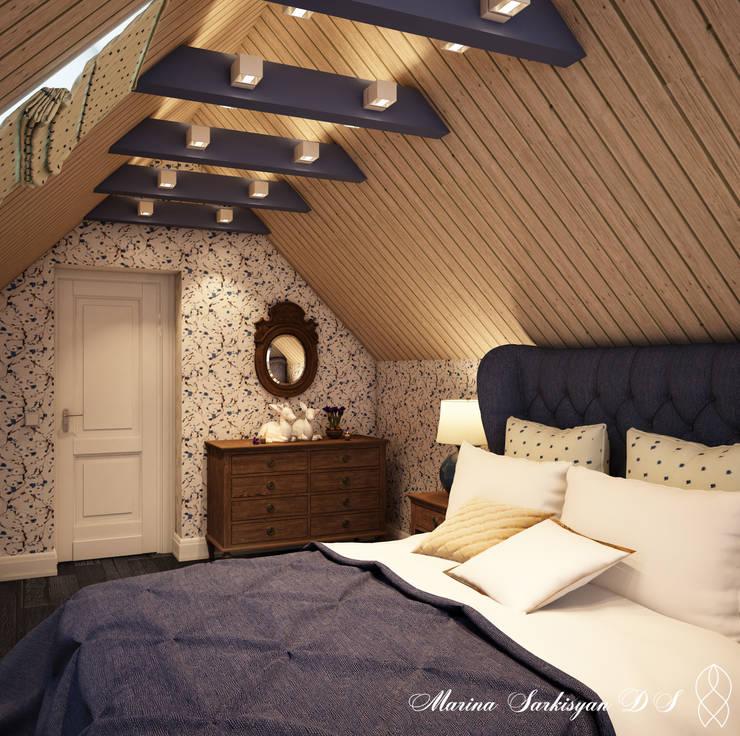 Country Living: Спальни в . Автор – Marina Sarkisyan