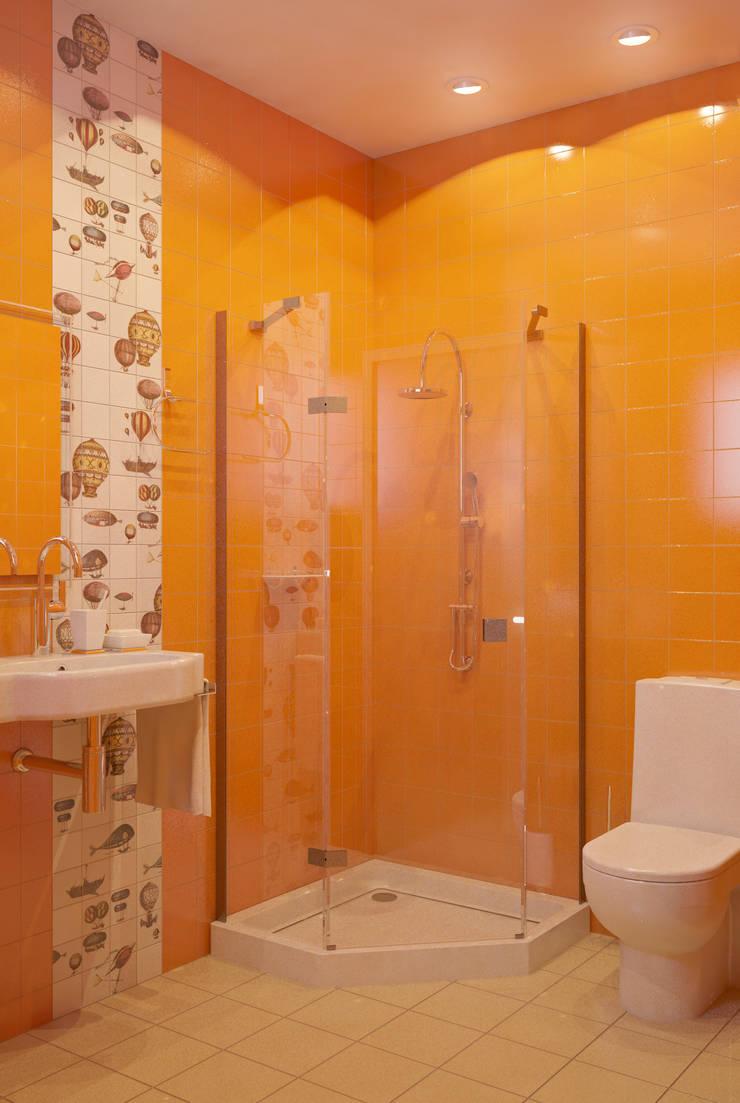 Маленькое счастье: Ванные комнаты в . Автор – Marina Sarkisyan