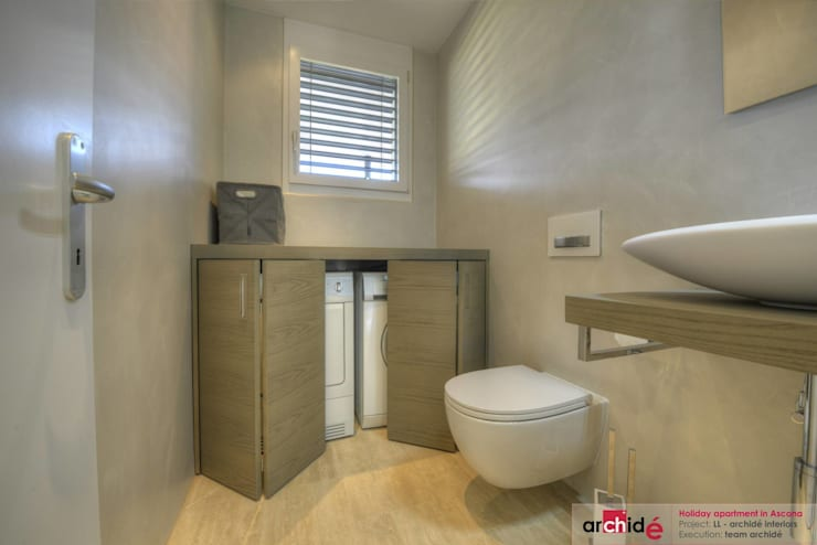 Bathroom by Archidé SA interior design