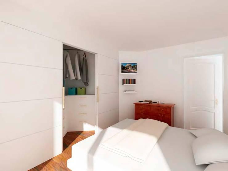modern Bedroom by Studio Farina Zerozero - 3D & Progettazione