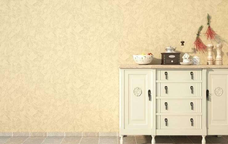 4 Duvar İthal Duvar Kağıtları & Parke – Uygulamalar 2 :  tarz İç Dekorasyon