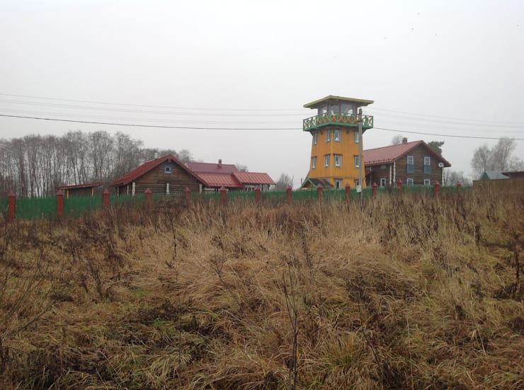 Усадьба под Волоколамском в традиционном стиле: Дома в . Автор – Бюро Акимова и Топорова,