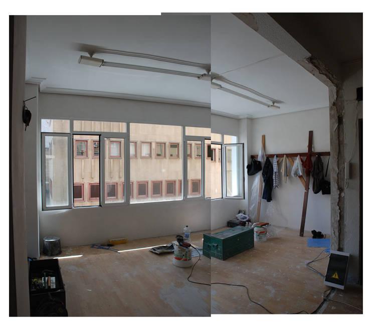 Zona de reuniones antes de la reforma:  de estilo  de estudio551