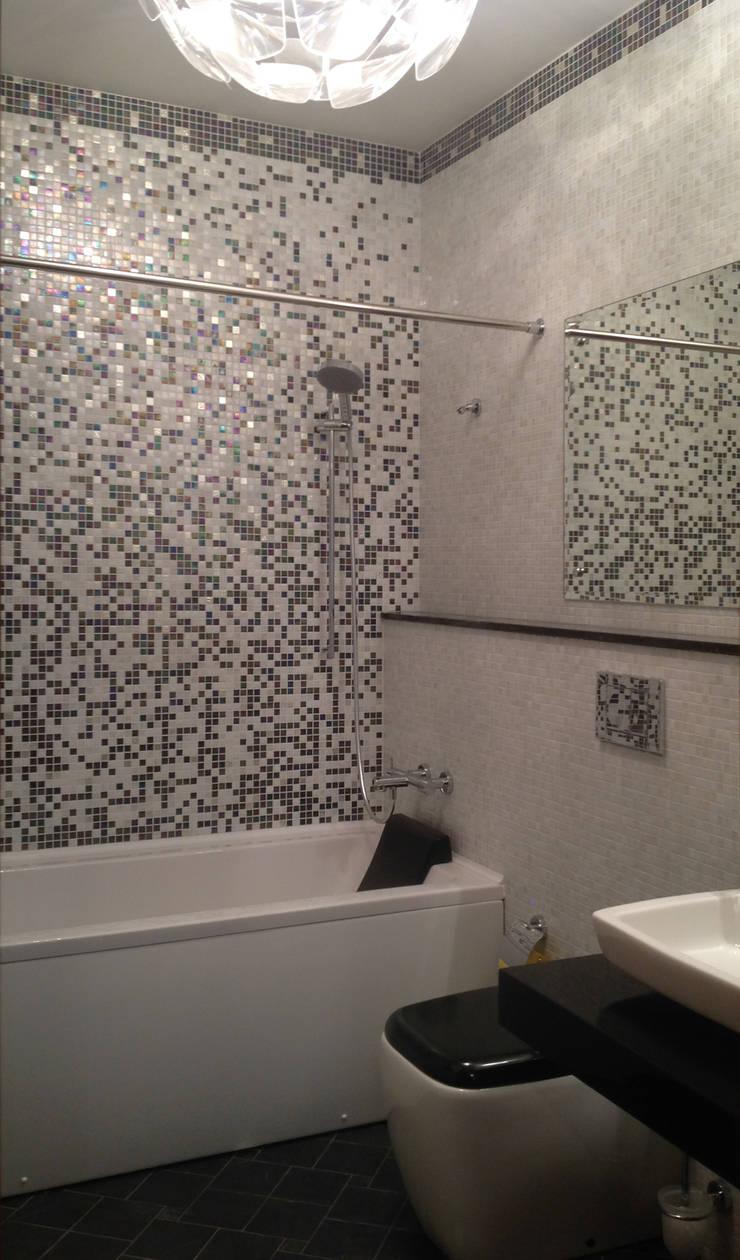Частный интерьер: Ванные комнаты в . Автор – Бюро Акимова и Топорова