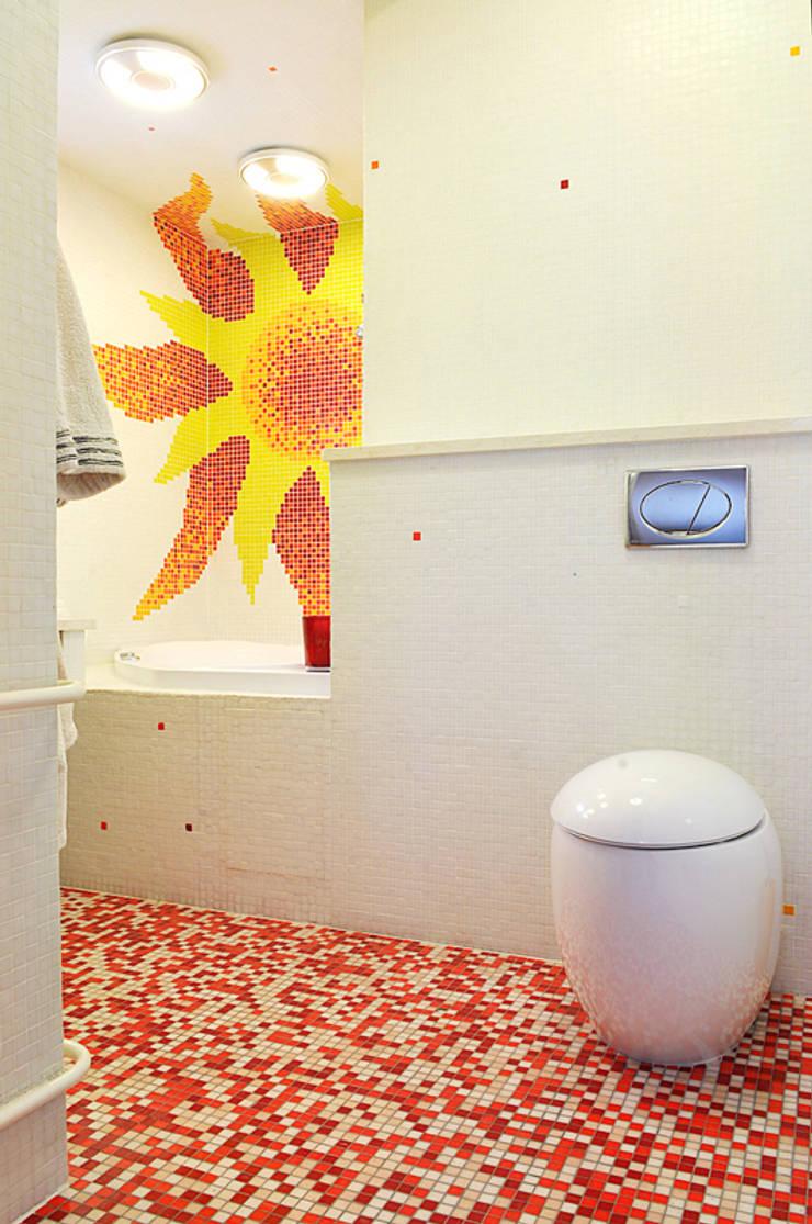 Частный интерьер, 2005 г.: Ванные комнаты в . Автор – Бюро Акимова и Топорова