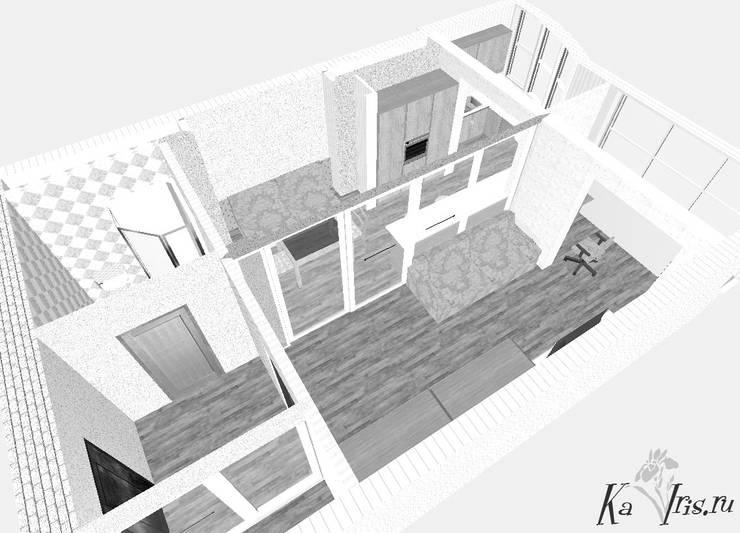 Объемное изображение планировочного решения:  в . Автор – kairis