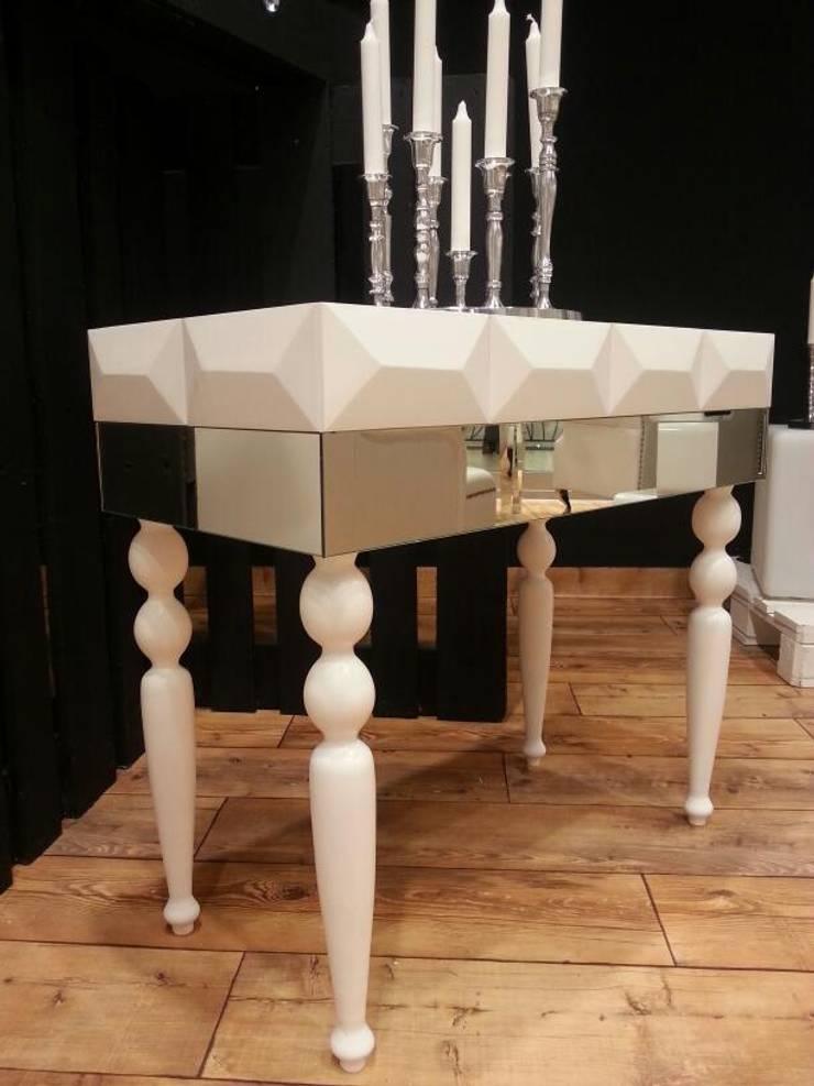 konsola, toaletka : styl , w kategorii Łazienka zaprojektowany przez ACOCO DESIGN