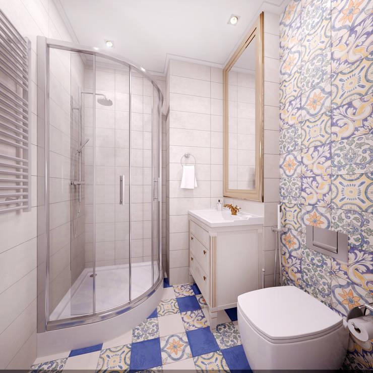 Петербургское настроение: Ванные комнаты в . Автор – Reroom