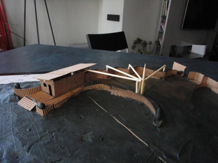Концепция ландшафтного дизайна частного участка, 2012 г.:  в . Автор – Бюро Акимова и Топорова