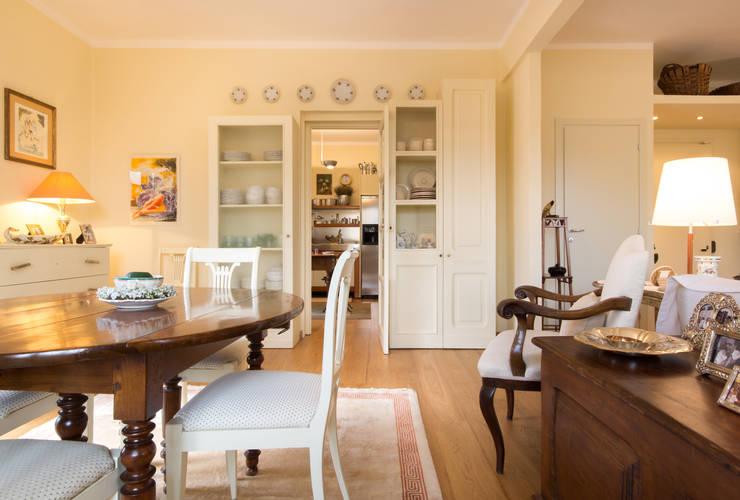 Un appartamento classico per la vita moderna - Open space cucina soggiorno moderno ...