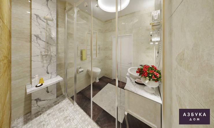 Baños de estilo  por Студия дизайна 'Азбука Дом'