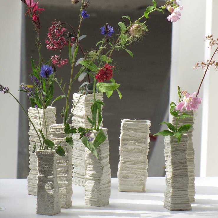 FLOWER TOWER: asiatische Esszimmer von Barbara Brouwers