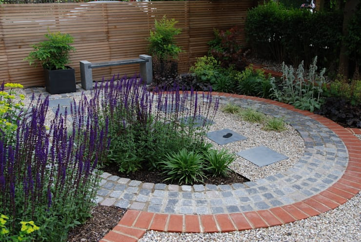 Сады в . Автор – Christine Wilkie Garden Design