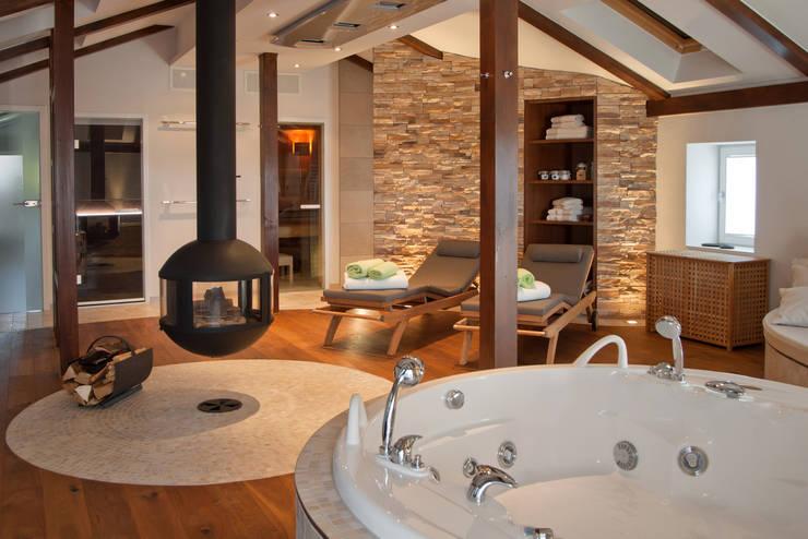 Spa de estilo mediterraneo por stonewater