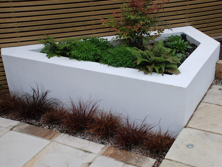 Small Urban Garden:  Garden by Christine Wilkie Garden Design