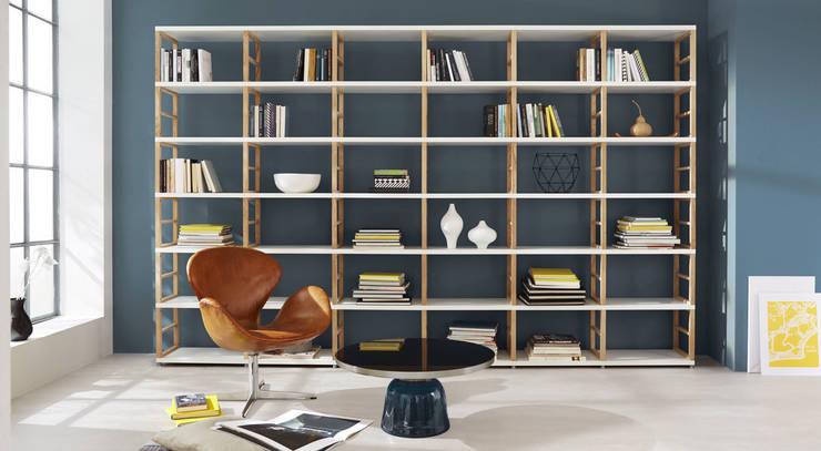 Bücherregale - Regalsystem MAXX:  Wohnzimmer von Regalraum GmbH