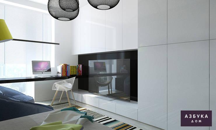 Пространство для жизни: Детские комнаты в . Автор – Студия дизайна 'Азбука Дом'