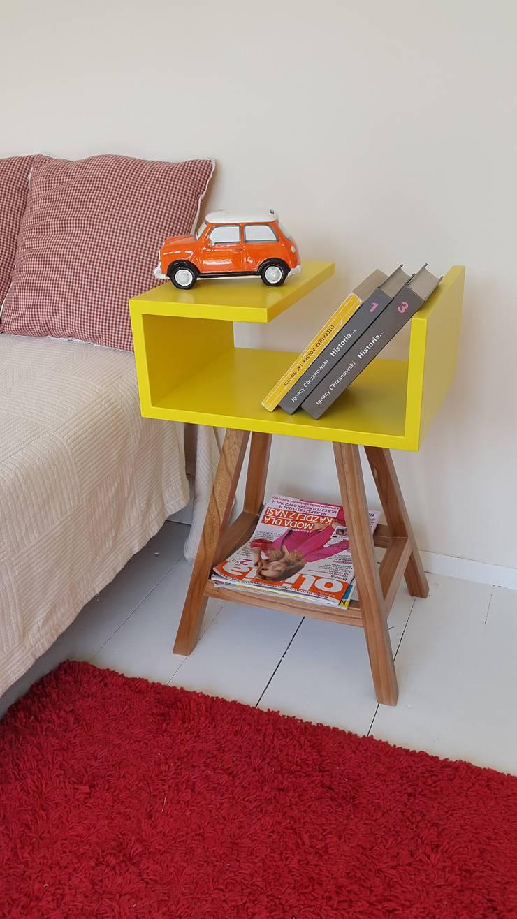 Stolik kawowy lub szafka nocna : styl , w kategorii  zaprojektowany przez ACOCO DESIGN,Skandynawski