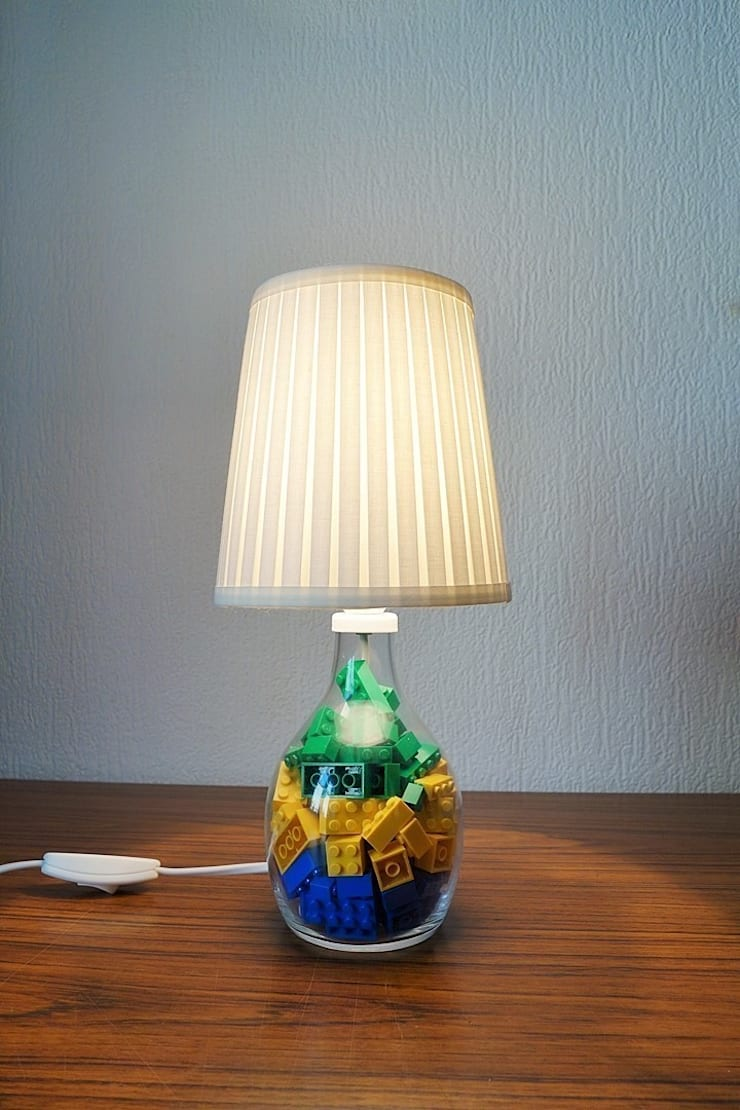"""lampe """"lego"""" by bruno par by bruno 