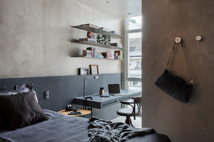 MM apartment: Quartos  por Studio ro+ca