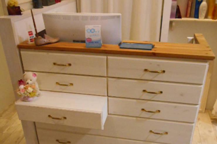 店内 1.: VINTAGE-RENOVATION by masuoka-designが手掛けたオフィス&店です。
