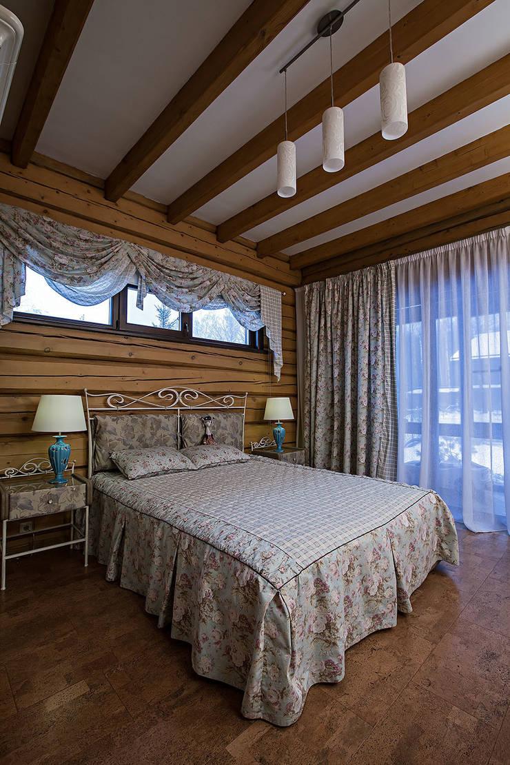 Дом: Спальни в . Автор – Николай Карачев, Рустикальный