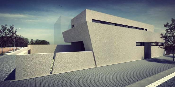 Proyecto Lleida : Casas de estilo  de Acero Modular S.L