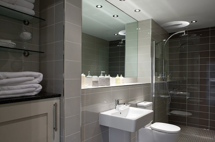 Shaftoe Cresent, Hexham:  Bathroom by MWE Architects