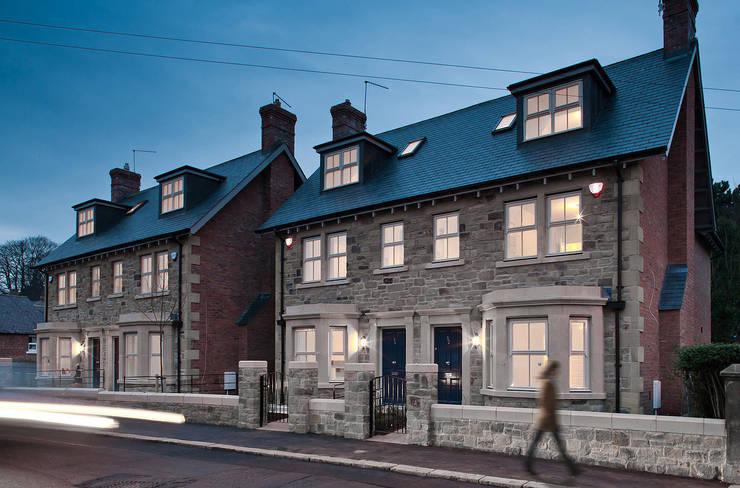 Shaftoe Cresent, Hexham:  Houses by MWE Architects
