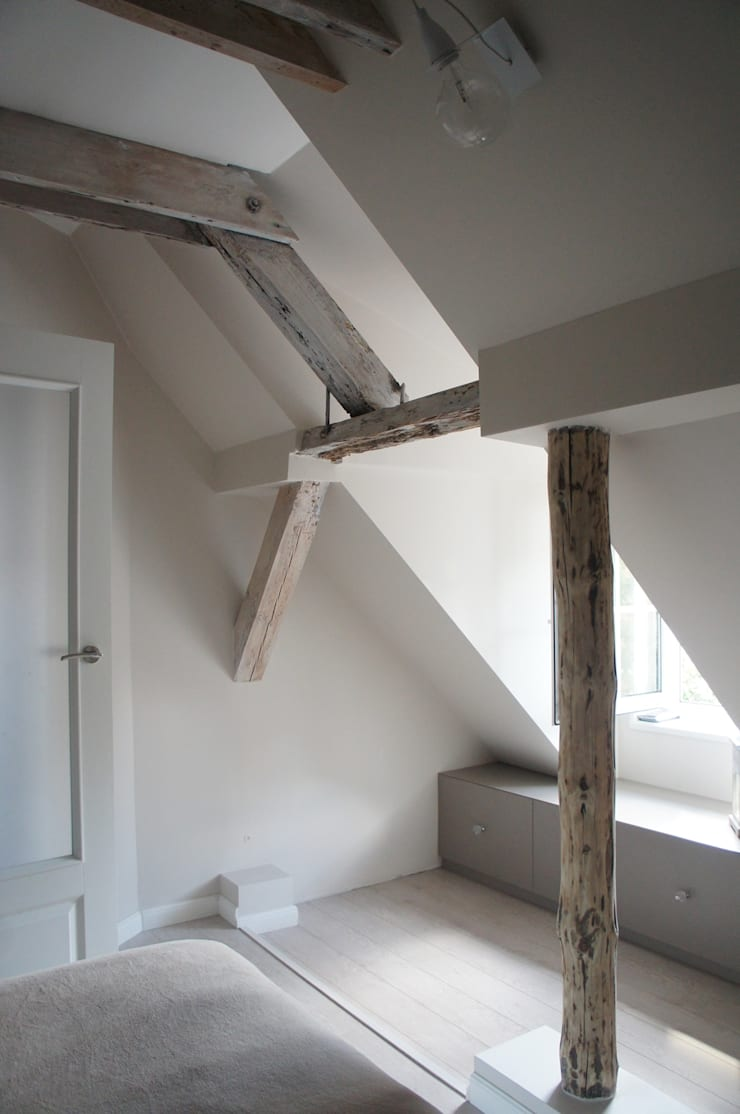 Moje mieszkanie: styl , w kategorii Sypialnia zaprojektowany przez Anna Wrona,