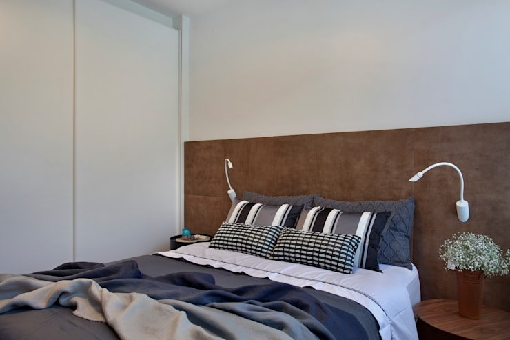 MS apartment: Quartos  por Studio ro+ca