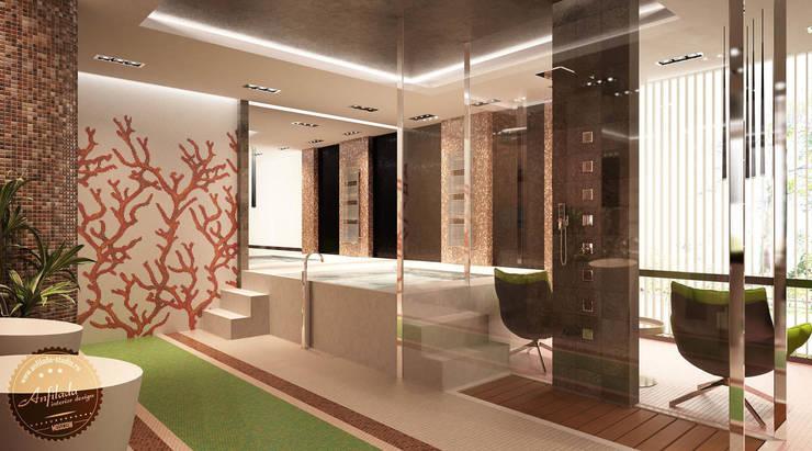 Bagno in stile  di Anfilada Interior Design