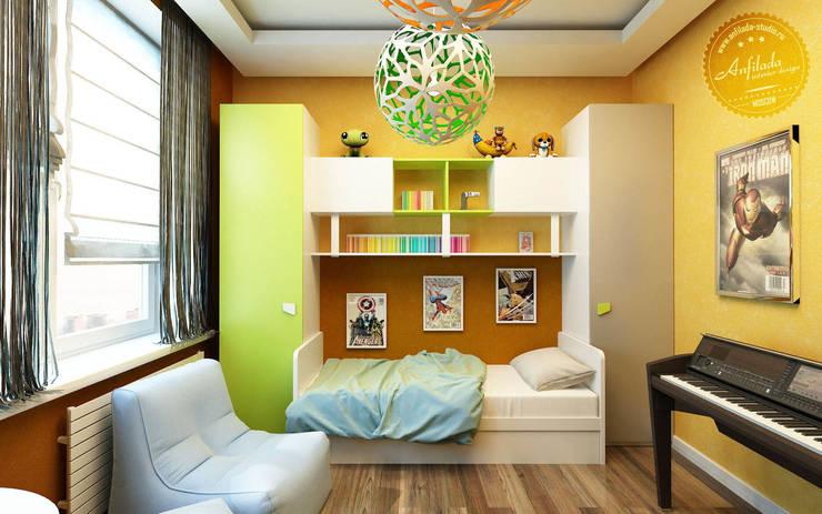 Детская с солнечным настроением: Детские комнаты в . Автор – Anfilada Interior Design
