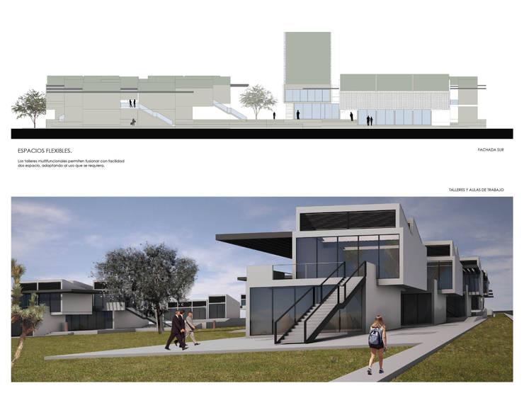 UNIVERSIDAD CAMPESINA DE SONORA:  de estilo  por gOO Arquitectos