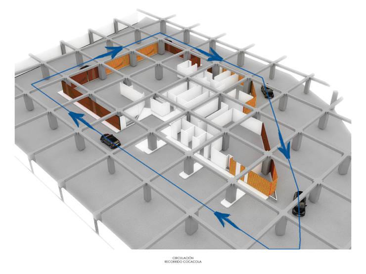 GYM TERRACOTA:  de estilo  por gOO Arquitectos