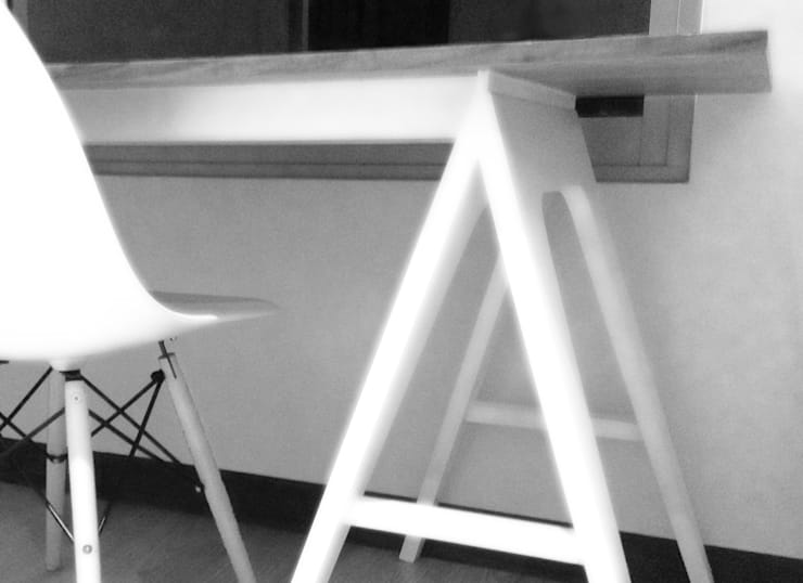 MESA DE TRABAJO: Estudio de estilo  por gOO Arquitectos
