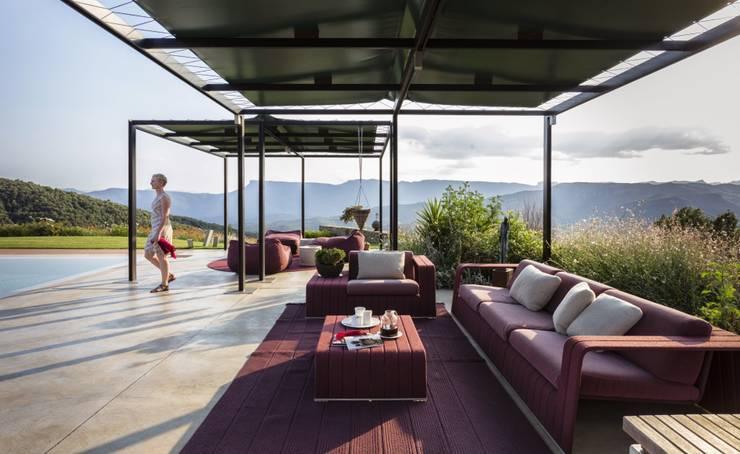 Jardin de style de style Rustique par VelezCarrascoArquitecto VCArq