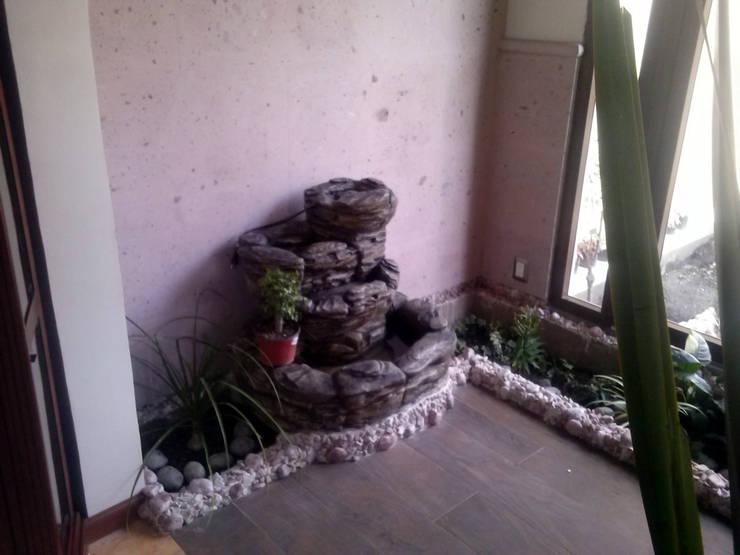 Recibidor: Jardines de estilo  por Estudio Ideas